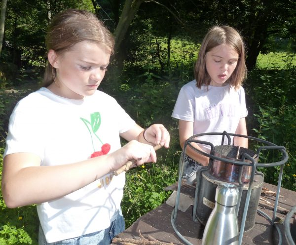 Y6-making-fire-Lilly-ZB
